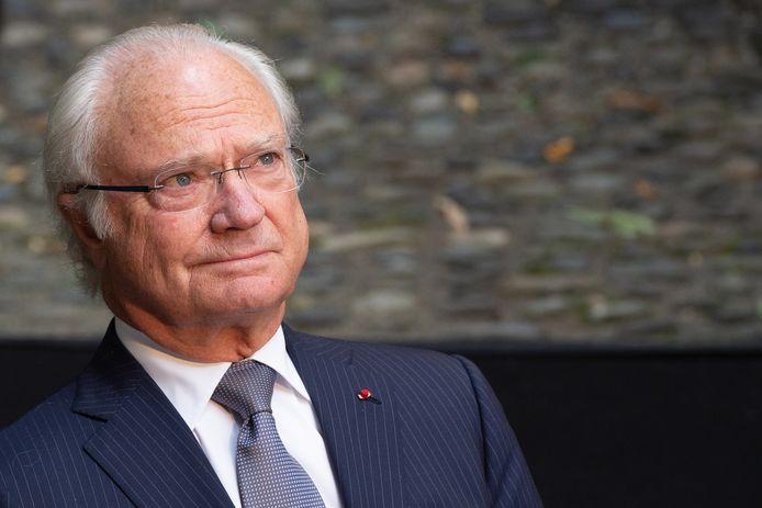 De Zweedse vorst Carl Gustaf