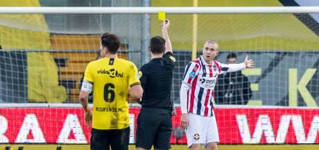 Sebastian Holmén speelt al 924 minuten met een donderwolkje boven zijn hoofd bij Willem II
