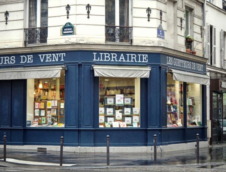 Boekhandel Les Guetteurs de Vent. Beeld RV