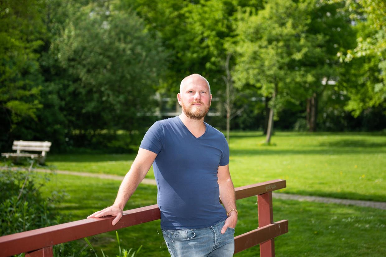 Bart Verkuil, hoofddocent klinische psychologie aan de universiteit van Leiden. Beeld Simon Lenskens