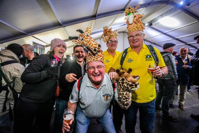 Het ging er alleszins gezellig aan toe op het Brugs Bierfestival.