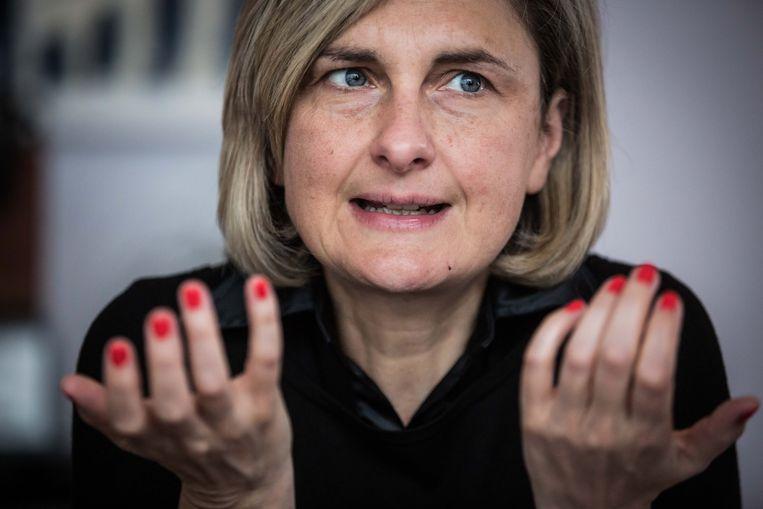 Minister van onderwijs Hilde Crevits. Beeld Bas Bogaerts