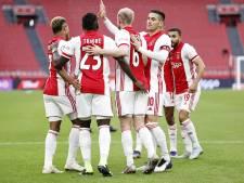 Wie moet Haller vervangen in de spits bij Ajax tegen Lille?