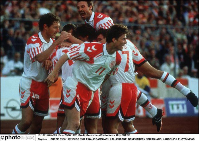 Denemarken op het EK 1992.