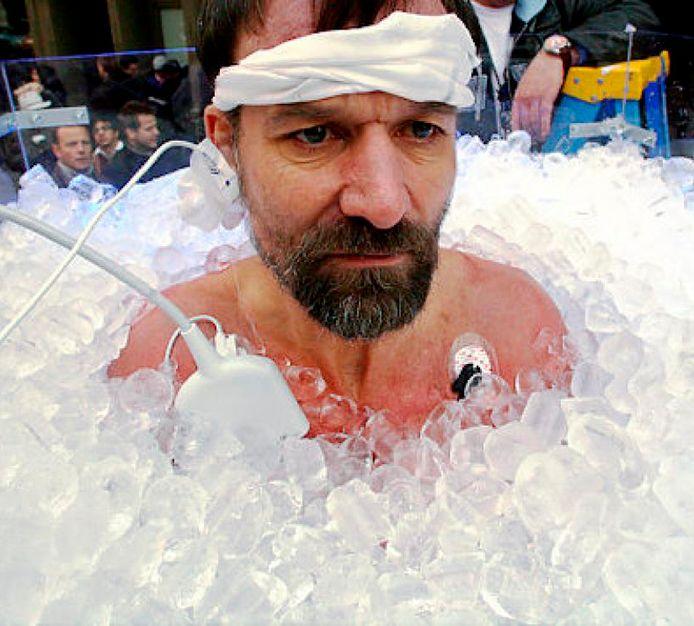 Iceman Wim Hof.