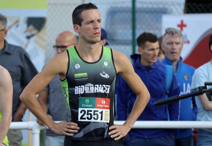 Aurèle Vandeputte, hier op archieffoto, liet in Oordegem een mooi PR van 48.84 noteren op de 400m en mag ambitieus zijn voor de komende wedstrijden op de 800m.