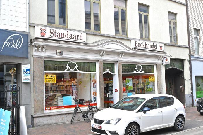 De Standaard boekhandel verdwijnt uit Menen.