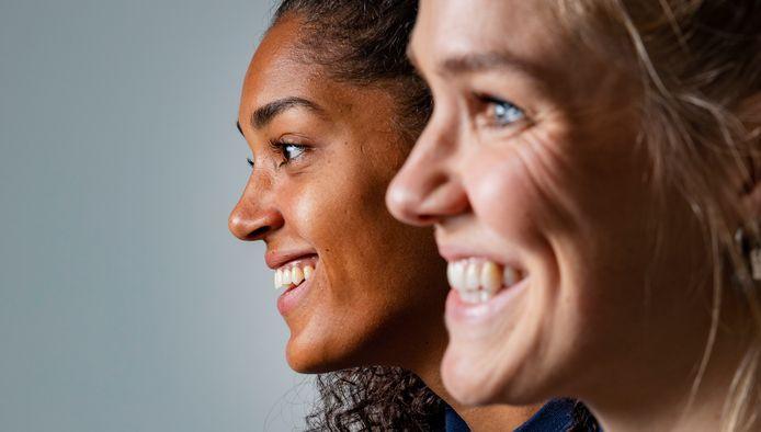 Celeste Plak en Kirsten Knip gaan komende zomer weer samen op pad met de nationale ploeg.
