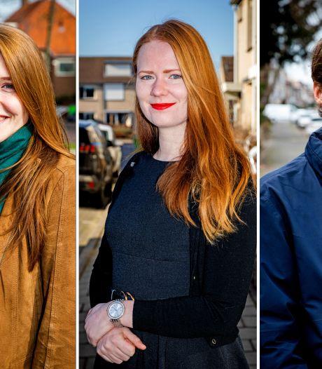 Deze drie jongeren meldden zich aan als stembureaulid: 'Jong en geen risicogroep, dus waarom niet?'