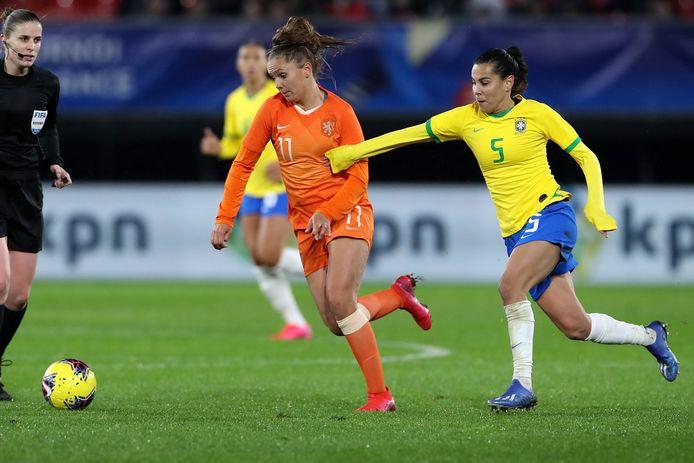 Lieke Martens keerde terug bij de nationale ploeg.