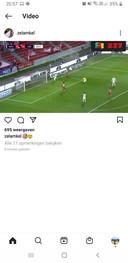 Didier Lamkel Zé op Instagram.