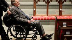 Amerikaanse oud-president George H.W. Bush (93) opgenomen in het ziekenhuis
