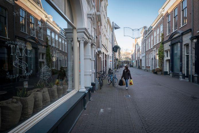 Archieffoto uit 2017 van de Kerkstraat in Arnhem.