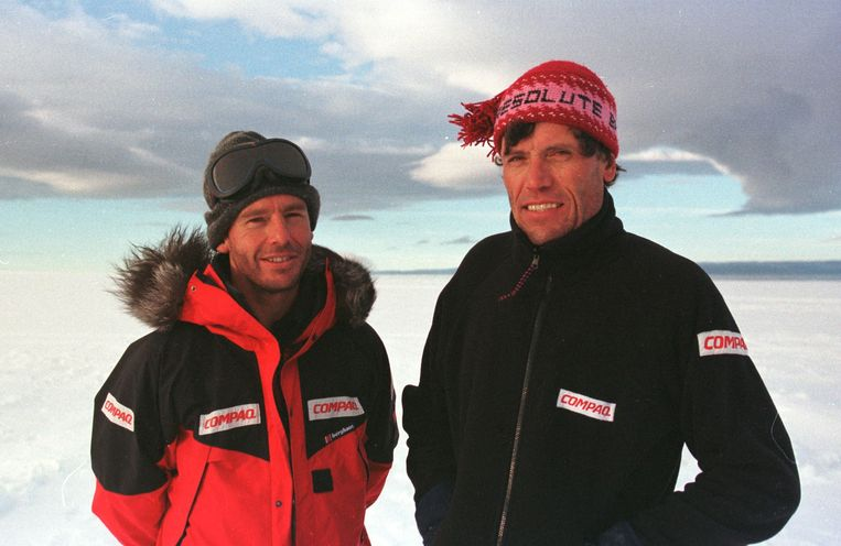 Dixie Dansercoer en Alain Hubert Beeld BELGA