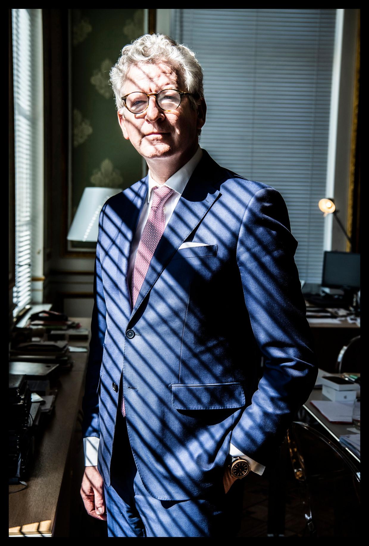 Pieter De Crem: 'Het is gedaan met besparen op onze gezondheidszorg. Iedereen heeft nu gezien hoe belangrijk die is.' Beeld Saskia Vanderstichele