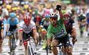 Topsprinter Peter Sagan - klant bij Piet van der Velde - schrijft de zoveelste etappe-winst in de Tour de France op zijn naam.