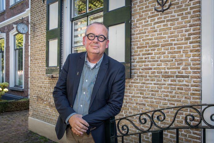 Classispredikant ds. Arie van der Maas.