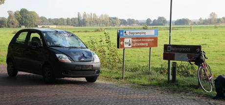 Wielrenner gewond na ongeluk in Luttenberg