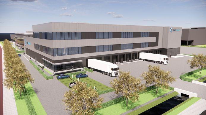 Het nieuwe gebouw van Cool Control op Honderdland in Maasdijk.