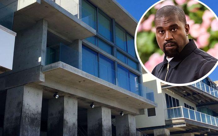 Kanye West kocht onlangs ook een strandhuis in Malibu.
