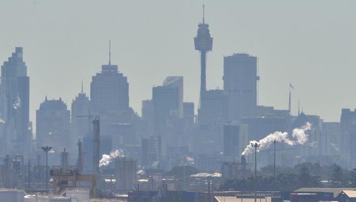 Het industriegebied van Botany Bay in Sydney.