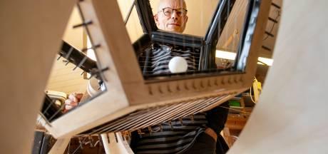 Dit extreem grote muziekinstrument is gemaakt in Zeewolde en is uniek in de wereld