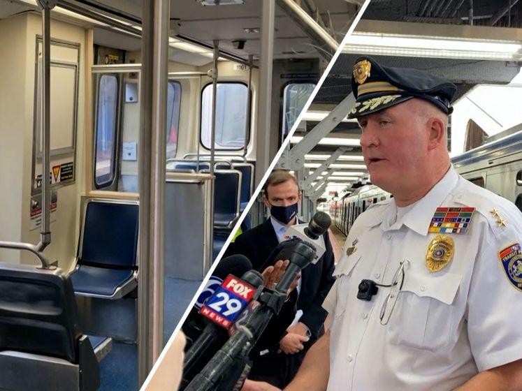 Passagiers filmen verkrachting in metro VS maar doen niks, politie woest