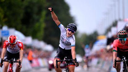 Verrassing bij de vrouwen: Jesse Vandenbulcke pakt eerste Belgische titel na prangende sprint met drie
