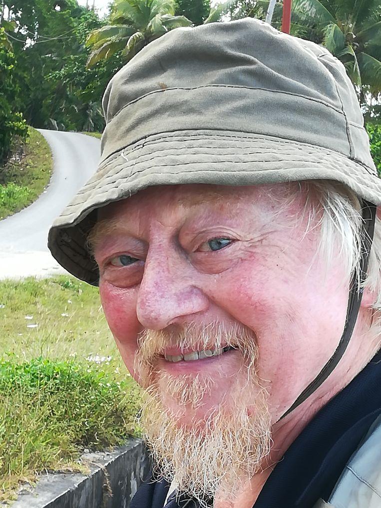 Ed de Vogel in 2018 op Papoea-Nieuw-Guinea. Beeld uit familiealbum