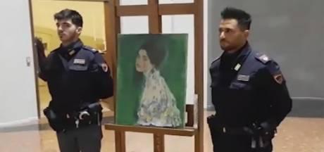 Schilderij na 23 jaar teruggevonden in tuin van museum waar het verdween