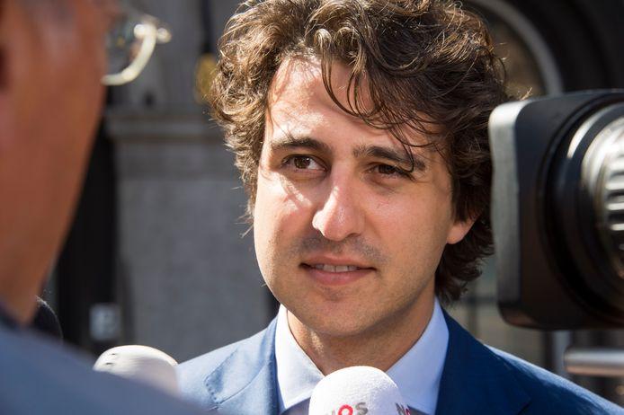 Fractievoorzitter Jesse Klaver van GroenLinks.