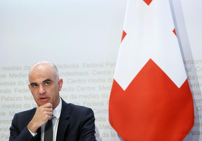 Alain Berset, ministre suisse de l'Intérieur et Conseiller fédéral