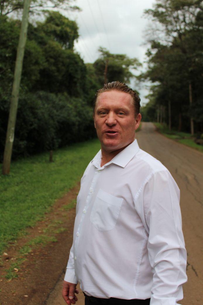 Pieter de Jongh, thuis in Afrika