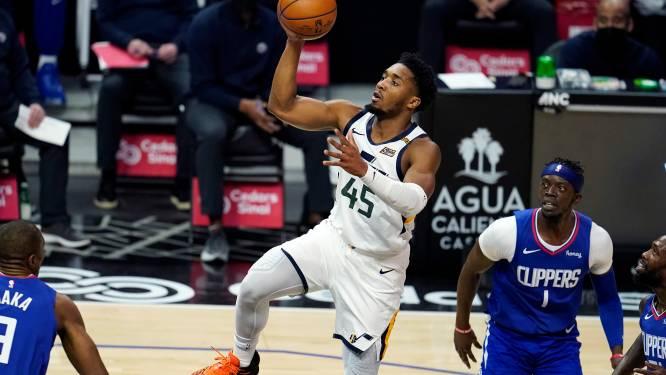 Utah verstevigt leidersplaats met winst tegen Clippers