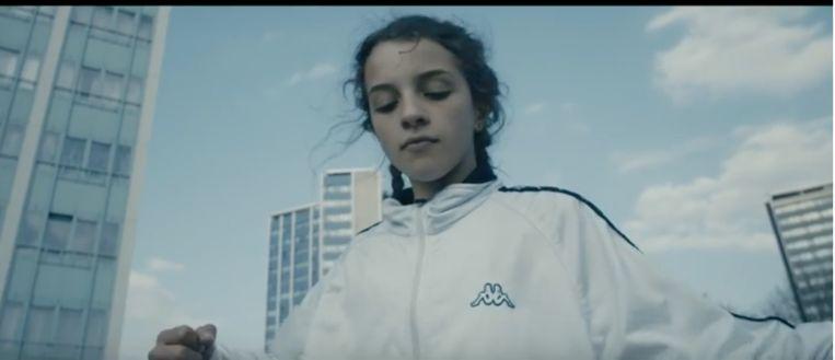 still uit videoclip 'Outfit van me Daddy' Beeld Frederike Migom