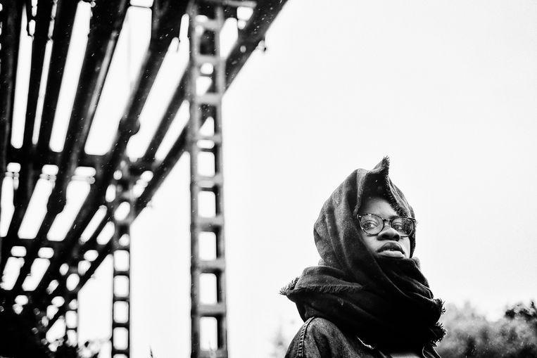 Coely, het Antwerpse rapwonder dat al mocht openen voor Kendrick Lamar en Nas. Beeld Wouter Van Vooren
