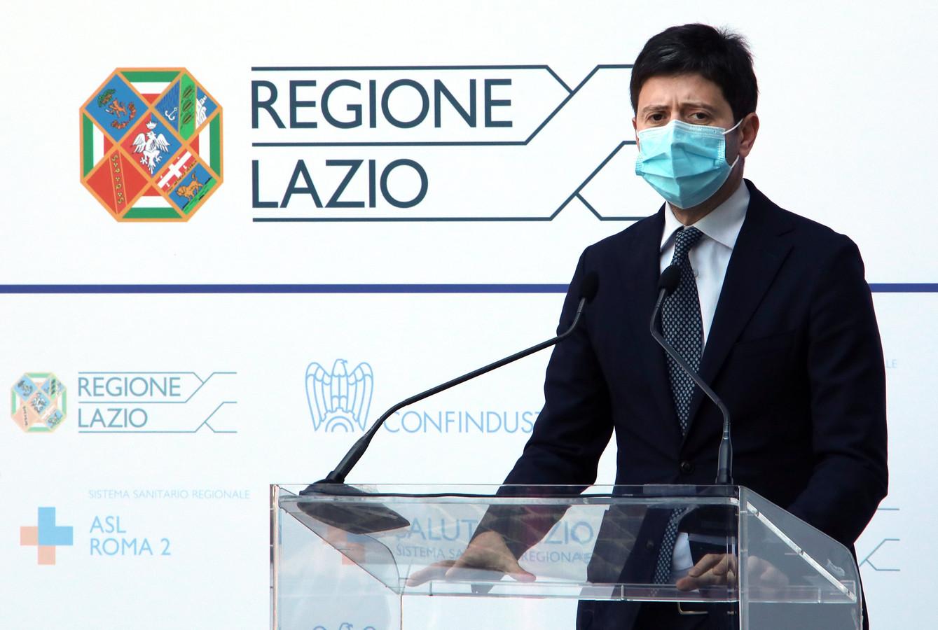 Minister van Volksgezondheid Roberto Speranza.