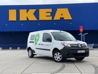 Breng je IKEA-meubels voortaan naar huis in elektrische deelbestelwagens