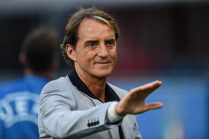 Le sélectionneur italien Roberto Mancini