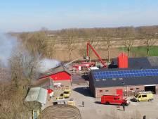 Brand in loods gemeentewerf Beuningen: geen papier en plastic meer inleveren
