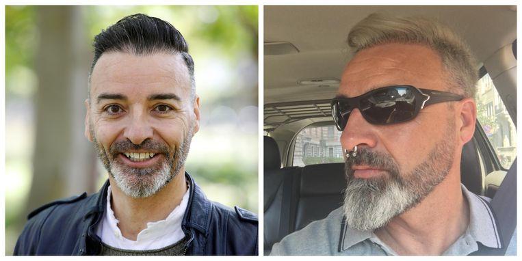 Johan Verstreken voor en na