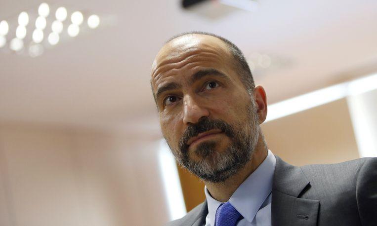 Dara Khosrowshahi, CEO van Uber, gelooft dat zijn bedrijf binnen enkele jaren winst zal maken. Beeld REUTERS