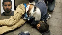 VIDEO: Camerabeelden tonen moment waarop pijpbom ontploft in metro New York