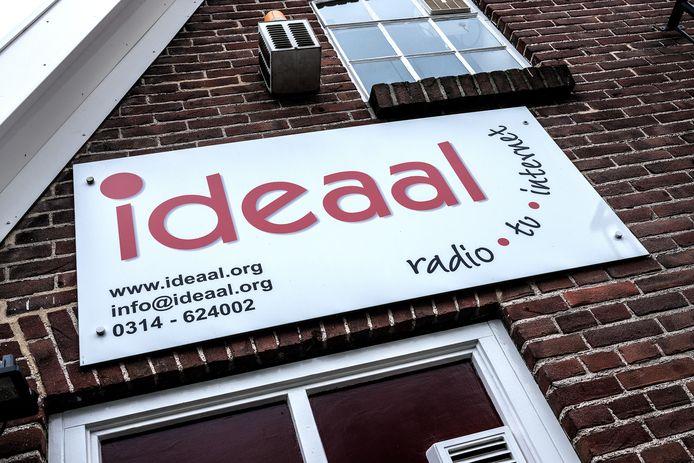 De studio van Radio Ideaal in Zelhem.