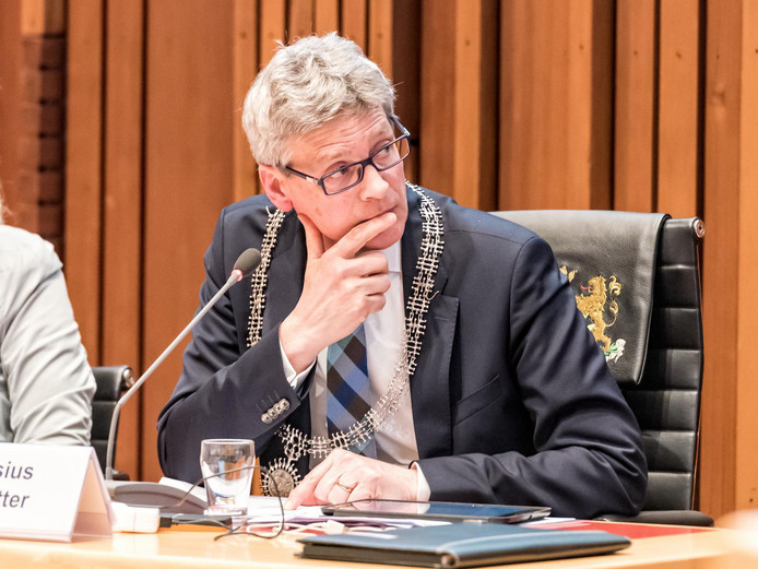 Lucas Bolsius, burgemeester.