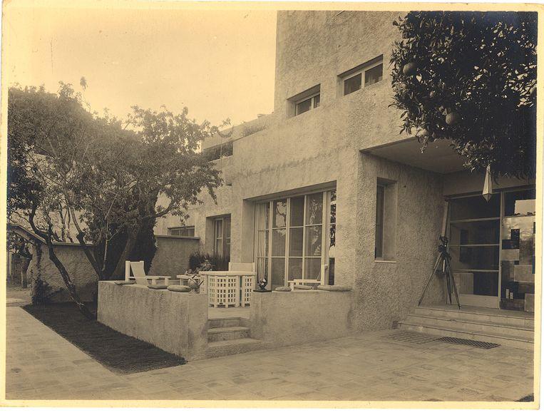 De Villa Noailles, Hyères, 1928 Beeld collection villa Noailles/Thérèse Bonney