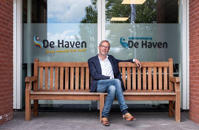 Martin Elbertsen, voorzitter van het corona-crisisteam van woonzorgcentrum De Haven in Bunschoten.
