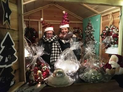 Duitse kerstmarkt op WinterWonderFair in Prinsenbeek