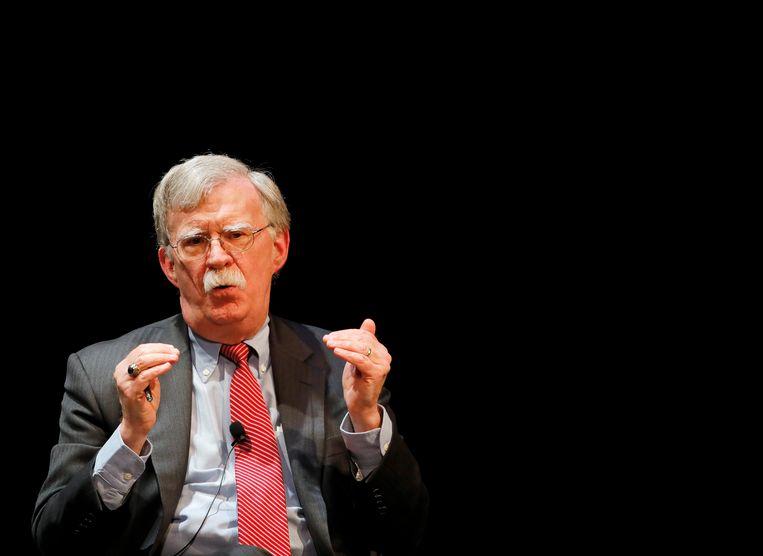 John Bolton. Beeld REUTERS