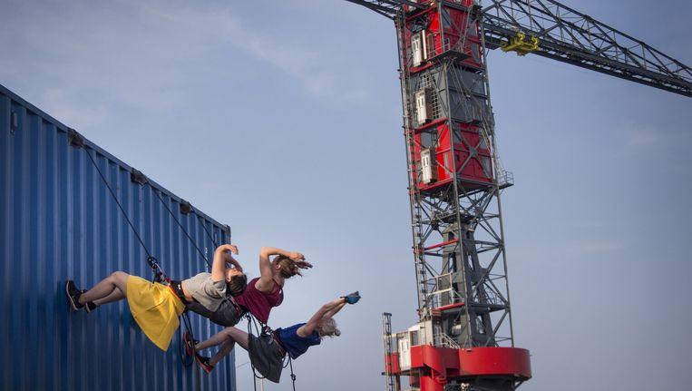Over het IJ: Noord staat weer vooraan als het om culturele containerdans gaat. Beeld Saris & den Engelsman